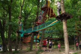 Rzeszów Atrakcja park linowy Linoskoczek