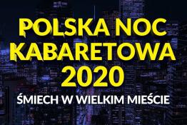 Rzeszów Wydarzenie Kabaret Polska Noc Kabaretowa 2020